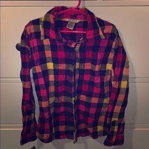 Arizona square shirt for girls size M